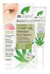 Dr. Organic Bio Kendermagolaj Intenzív Szemszérum Bioaktív kendermagolajjal 15 ml