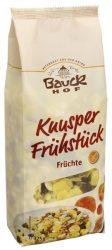 Bauckhof Bio müzlik, gyümölcsös müzli, gluténmentes 325 g