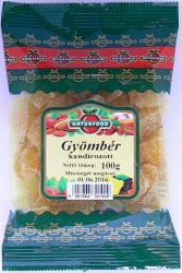 Naturfood Kandírozott Gyömbér 100 g