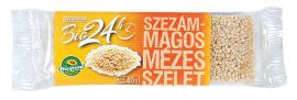 Biopont Bio Mézes Szelet Szezámmagos 40 g