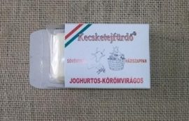 Sövénykúti kecsketejfürdő, Joghurtos - Körömvirágos háziszappan (szárazbőrűeknek) 100 g