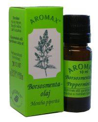 Aromax illóolaj, Borsosmenta, borsmenta (Mentha x piperita) 10 ml -- NetbioHónap 2020.01.28-ig 10% kedvezménnyel
