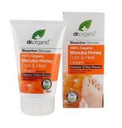 Dr. Organic Bio Manuka mézes láb és sarokápoló 125 ml -- NetbioHónap 2019.08.28-ig 10% kedvezménnyel