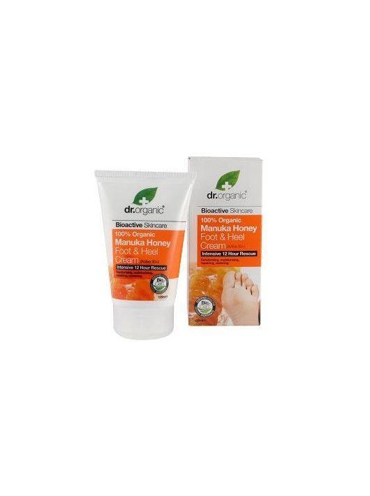 Dr. Organic Bio Manuka mézes láb és sarokápoló 125 ml
