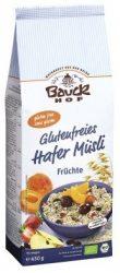 Bauckhof Bio gyümölcsös zabmüzli gluténmentes 450 g