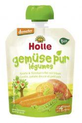 Holle Bio Veggie Bunny - Tasak sárgarépa és édesburgonya borsóval 90 g