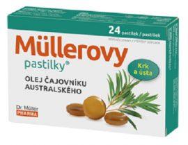 Dr. Müller Teafaolajos torokfertőtlenítő pasztilla 24 db
