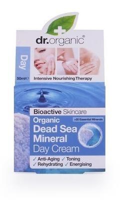 4fcff50f49 Dr. Organic Bio Holt-tengeri só, Nappali krém természetes Holt-tengeri  ásványokkal 50 ml