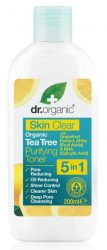 Dr. Organic Bio Skin Clear Pórustisztító arctonik 5 az 1-ben 200 ml -- NetbioHónap 2019.09.26-ig 10% kedvezménnyel
