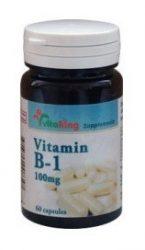 VitaKing B-vitamin, B1-Vitamin 100mg 60 db