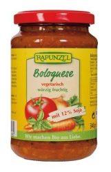 Rapunzel Bio paradicsomos készítmény, vegetáriánus bolognai szósz szójával 340 g