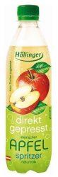 Höllinger Bio Gyümölcsfröccs, Alma 500 ml