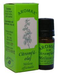 Aromax illóolaj, Citromfű olaj (Melissa officinalis) 5 ml