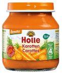 Holle Bio bébiétel sárgarépa 125 g -- készlet erejéig, a termék lejárati ideje: 2020 februárja