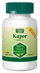 Zöldvér Kapor Tabletta 150 db