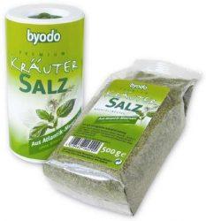 Byodo só, fűszeres atlanti tengerisó utántöltő 500 g