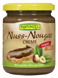 Rapunzel Bio olajos magkrém, Mogyorós nugátkrém, vegán 250 g