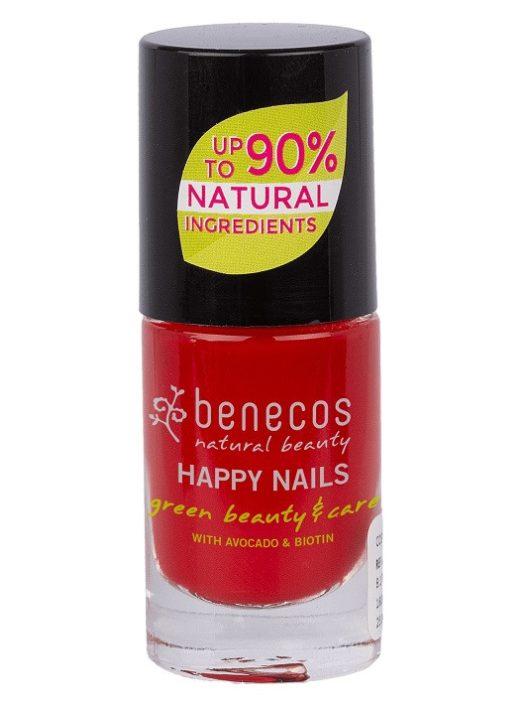 Benecos Körömlakk-Vintage Red 5 ml