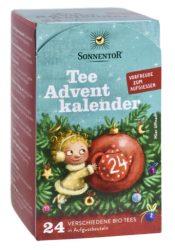 Sonnentor Bio Adventi tea naptár - filteres 38 g
