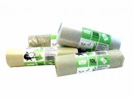 Ecoizm Szemeteszsák, újrahasznosított 10 liter, 25 db/csomag