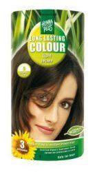 HennaPlus női tartós hajfesték, barna árnyalat, világosbarna (5) (Long Lasting Colour, Light Brown)