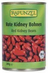 Rapunzel Bio konzervek, vörös kidney bab sós lében 400 g