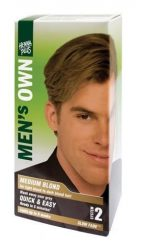 Henna Plus Men's Own Férfi Hajfesték, középszőke 40 ml