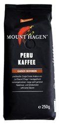 Mount Hagen Bio-Demeter Kávé, szemes, pörkölt, 100% Peru, Demeter 250 g