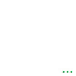 Prána párna huzat, meditációs, félhold ülő párnához, 100% pamut, zöld színben (csak huzat)