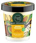 """Organic Shop """"Banán shake"""" regeneráló testápoló 450 ml -- NetbioHónap 2019.05.29-ig 10% kedvezménnyel"""