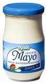 Byodo Bio majonéz, könnyű majonéz tojás nélkül 40% zsírtartalom (salátakrém) 250 ml