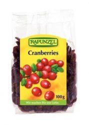 Rapunzel Bio aszalt gyümölcsök, aszalt vörösáfonya 100 g