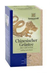 Sonnentor Bio Tea, Kínai zöld tea, filteres, adagolós 27 g