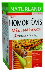 Naturland Gyümölcstea Homoktövis Méz-Narancs 20 db filter -- NetbioHónap 2019.12.29-ig 20% kedvezménnyel