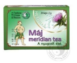 Dr. Chen Máj Meridian Tea 20 filter -- készlet erejéig, a termék lejárati ideje: 2021.08.15.