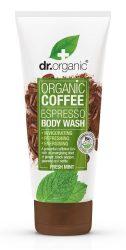 Dr. Organic Élénkítő Tusfürdő Bio Kávéval 200 ml -- NetbioHónap 2019.05.29-ig 10% kedvezménnyel