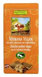 Rapunzel Bio Nirwana rizstejes Bio csokoládé, Vegán 100 g