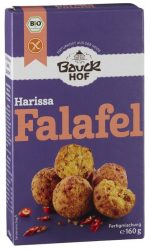 Bauckhof Bio Harissa Falafel gluténmentes 160 g