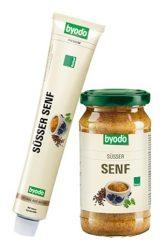 Byodo Bio mustár, édes mustár 200 ml
