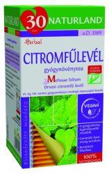Naturland Citromfűlevél Tea 25 db filter -- NetbioHónap 2019.12.29-ig 20% kedvezménnyel