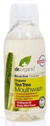 Dr. Organic Bio Teafa szájvíz 500 ml -- NetbioHónap 2019.07.28-ig 10% kedvezménnyel