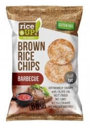 Rice Up Barnarizs Chips Barbecue Ízű 60 g