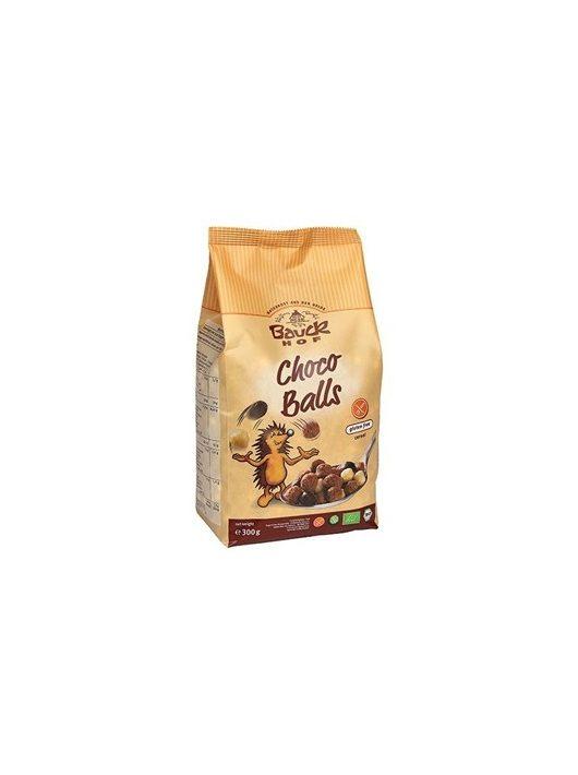 Bauckhof Bio müzlik, gluténmentes reggeli golyók, csoko-mix 300 g