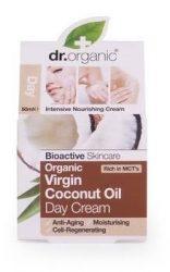 Dr. Organic Bio Kókuszolaj, Nappali krém bio szűz kókuszolajjal 50 ml
