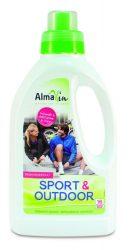 Almawin Öko folyékony mosószer sport- és szabadidő ruhákhoz (sportmosószer, sport + outdoor) 750 ml