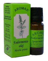 Aromax Illóolaj, Fodormenta illóolaj (Mentha spicata var. crispata /Bentls./ Mansf.) 10 ml