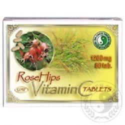 Dr. Chen C-Vitamin Csipkebogyó Kiv. 80 db