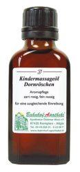 Ingeborg Stadelmann Gyermekmasszázsolaj, Csipkerózsika 50 ml