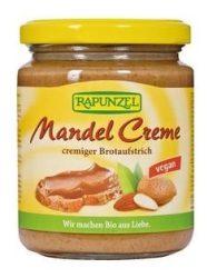 Rapunzel Bio olajos krémek, mandulakrém nádcukorral, vegán 250 g