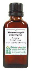 Ingeborg Stadelmann Gyermekmasszázsolaj, Rosszcsont, 50 ml